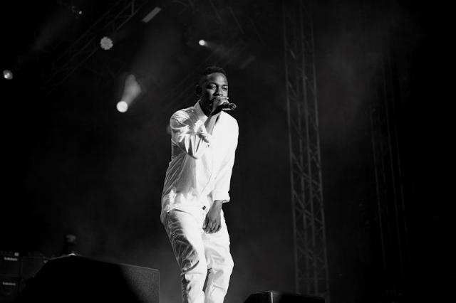 Kendrick Lamar beim Konzert