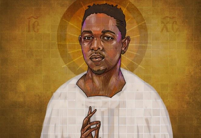 Kendrick Lamar ist für seine Fans fast schon ein Heiliger