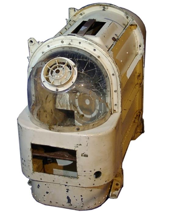 Die Raumkapsel von Laika (Nachbildung)